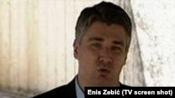 Kryeministri i Kroacisë, Zoran Milanoviç.