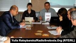 Оприлюднення даних щодо закритості генпланів у Дніпропетровську фахівцями Східнодноукраїнського центру громадських ініціатив