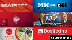 Talas reklamnih poruka: Predizborni plakat političkih partija