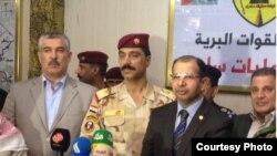 رئيس مجلس النواب سليم الجبوري في سامراء، 9 آذار 2015