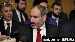 Премьер-министр Армении Никол Пашинян, Ереван, 8 апреля 2019 г.