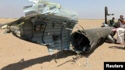 Սիրիա - Խոցված ռուսական ուղղաթիռի բեկորները, 1-ը օգոստոսի, 2016թ․