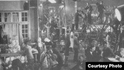 Съемки в Париже в 1927 году