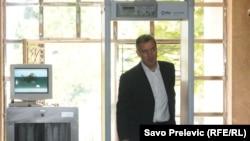 Milo Đukanović bivši premijer Crne Gore i predsednik DPS, prilikom ulaska u Skupštinu Crne Gore, 09. septembar 2011.