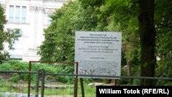 Șantierul memorialului de la Berlin