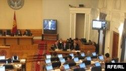 Бывший парламент Кыргызстана. 17 декабря 2008 г.