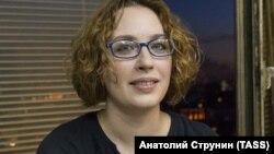 Журналістка російської радіостанції «Ехо Москви» Тетяна Фельгенгауер