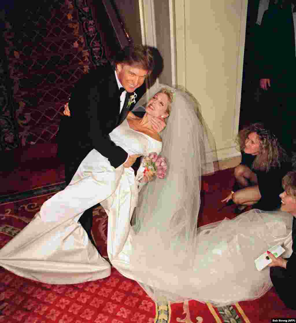 Trump married actress and model Marla Maples in 1993.