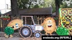 «Бульбяны» трактар «прыехаў» у Віцебск з Шумілінскага раёну