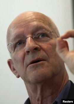 Claude Nicollier in 2012