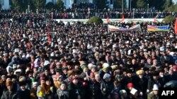 Ош қаласындағы шеру. 1 наурыз 2012 жыл.