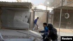 Pamje nga lufta në Siri