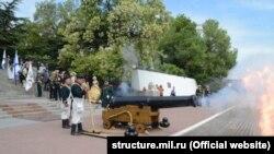 Пушка, из которой выстрелят в Севастополе в День ВМФ России