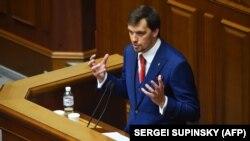 Oleksiy Honcharuk, 35, became Ukraine's youngest prime minister.