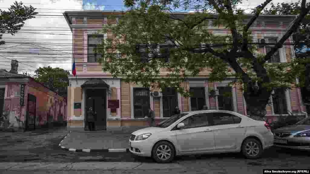 Подконтрольный Кремлю Центральный районный суд Симферополя, где 10 мая состоялось 111 заседание по«делу Чийгоза»