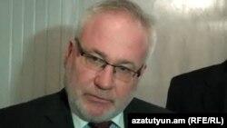 Российский сопредседатель Минской группы ОБСЕИгорь Попов (архив)
