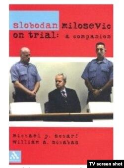 Naslovnica knjige o suđenju Miloševiću