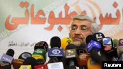 Иранскиот шеф на преговарачкиот тим Саед Џалили