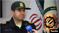 "Police Chief of Khuzestan Province Brigadier General Heydar Abbaszadeh says police has arrested members of a ""terrorist cell"". FILE PHOTO"