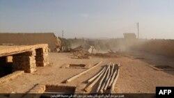 Сириянын Ал-Карьятайн шаары.