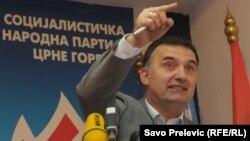 Odlazeći predsjednik SNP-a Srđan Milić