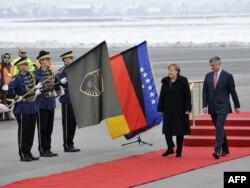 Vizita e kancelares Gjermane në Kosovë, Angela Merkel.