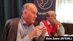 Mirsad Tokača i Zoran Pusić