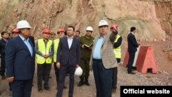 Фото с сайта президента Таджикистана