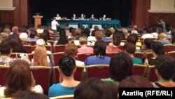 Пленарное заседание Всероссийского съезда учителей татарского языка и литературы