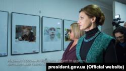 Марина Порошенко на фотовиставці газети «День»