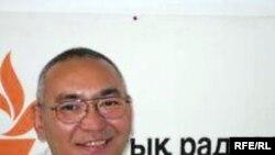 Ержан Жумагали, казахский ученый-биолог, выигравший грин-карту и проживающий ныне в США. Алматы, 10 июля 2009 года.