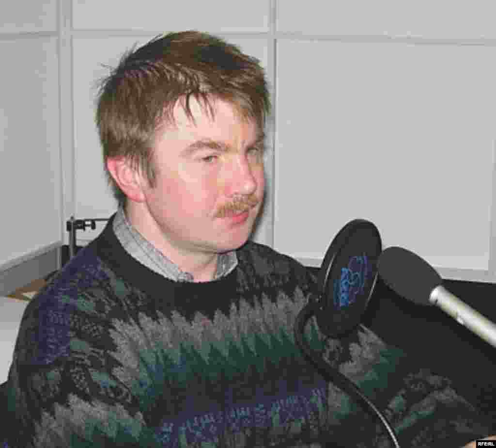 Член Российской общественной организации «Норд-Ост» Дмитрий Миловидов