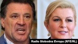 Zdravko Mamić i Kolinda Grabar Kitarović