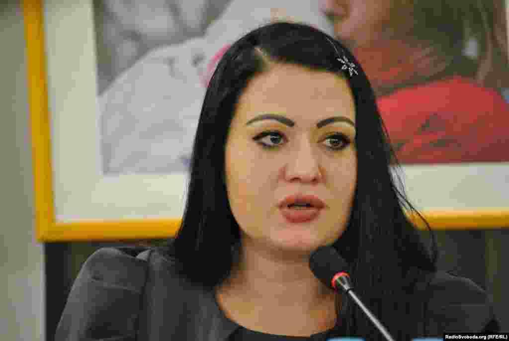Наталія Грицаєнко, координатор проекту «Доступ дівчат та молодих жінок, вразливих до інфікування ВІЛ, до профілактичних та інших послуг в Україні»
