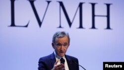 برنار آرنو، مدیر ۷۱ ساله شرکت LVMH