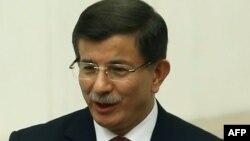 Премьер-министр Турции Ахмет Давутоглу.