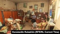 Пациенты психоневрологического интерната в Воронежской области. Снимок датируется 2011 годом.