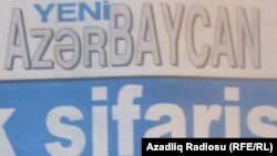 """""""Yeni Azərbaycan"""" qəzeti"""