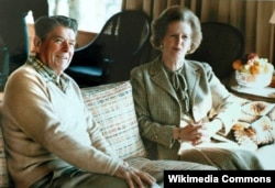 Ronald Reagan və Margaret Thatcher - 1984