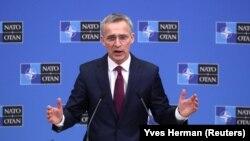 Йенс Столтенберг представляет ежегодный отчет НАТО
