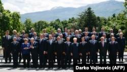 Лидерите на државите од ЕУ и од Западниот Балкан на Самит во Софија на 17 мај 2018