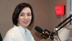 """Maia Sandu: """"Cât regimul va controla țara, nimic bun nu se poate întâmpla pentru cetățenii ei"""""""