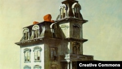 "Эдвард Хоппер, ""Дом у железной дороги"", 1925"