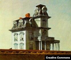 "Эдвард Хоппер ""Дом у железной дороги"", 1925"