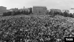 Забастовка горняков Кузбасса, 13 июля 1989 г