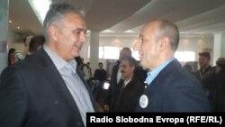 Кандидатите за градоначалник на Охрид, Александар Петрески од СДСМ и Никола Бакрачески од ВМРО-ДПМНЕ.