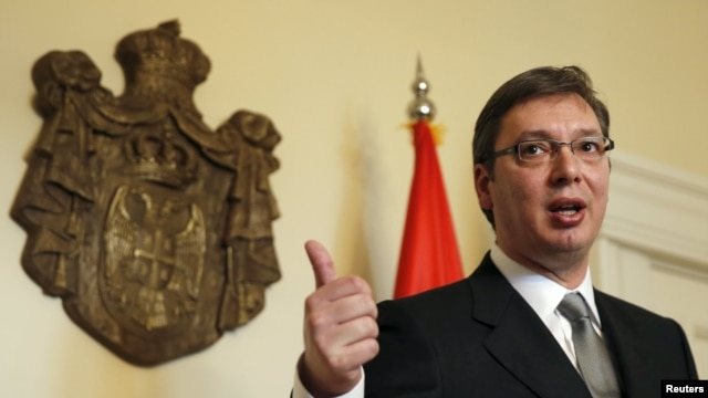 Serbian Prime Minister Aleksander Vucic has called for early parliamentary elections on April 24.