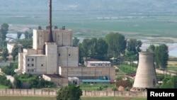 Солтүстік Кореяның Йонбендегі ядролық кешені. (Көрнекі сурет).