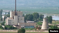 North Korea's Yongbyon nuclear plant, whose reactor has been closed since 2007 (file photo)