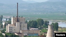 Реактор в Йонбене. Северная Корея.